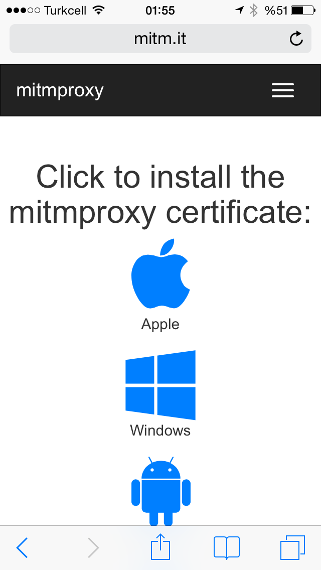 Mitmproxy